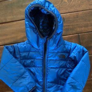 North Face toddler boys reversible jacket